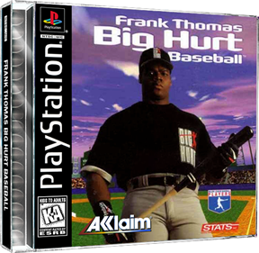 Frank Thomas Big Hurt Baseball - Fanart - Box - Front