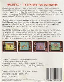 Ballistix - Box - Back