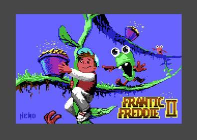 Frantic Freddie II - Screenshot - Game Title