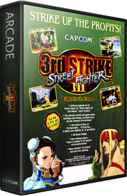 Street Fighter III: 3rd Strike: Fight for the Future - Box - 3D