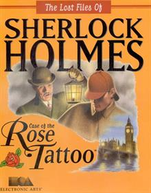The Lost Files of Sherlock Holmes: The Case of the Rose Tattoo - Box - Front