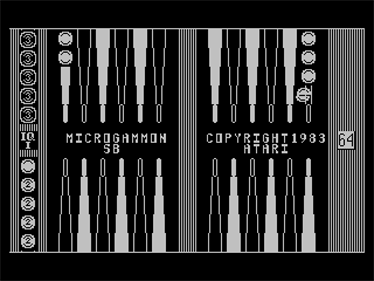 Microgammon SB - Screenshot - Game Title