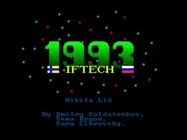 1993 - Screenshot - Game Title