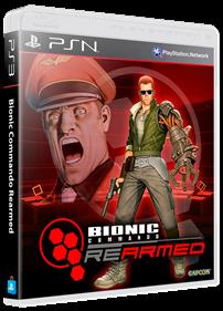 Bionic Commando: Rearmed - Box - 3D