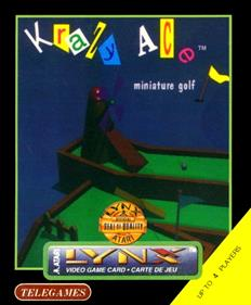Krazy Ace Miniature Golf - Box - Front - Reconstructed