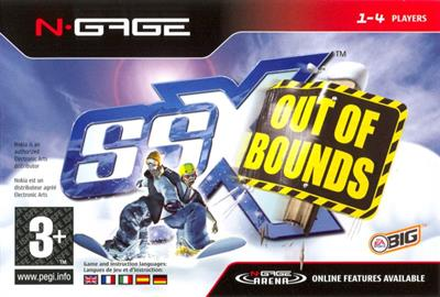 SSX: Out of Bounds - Box - Front