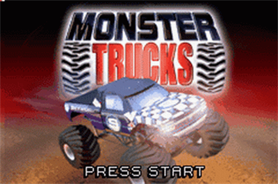 2 Games In 1 Double Value!: Monster Trucks / Quad Desert Fury - Screenshot - Game Title