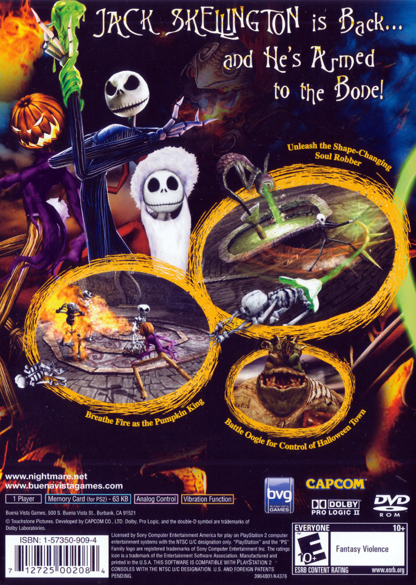 The Nightmare Before Christmas: Oogie\'s Revenge Details - LaunchBox ...