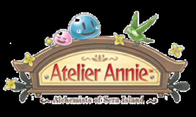Atelier Annie: Alchemists of Sera Island - Clear Logo