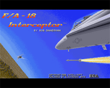 F/A-18 Interceptor - Screenshot - Game Title