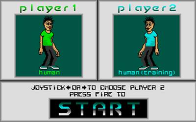 Metal: A Robot Combat Simulation - Screenshot - Game Select