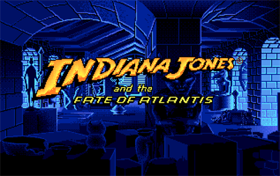 Indiana Jones and the Fate of Atlantis - Screenshot - Game Title