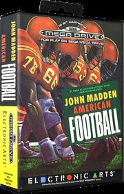 John Madden Football - Box - 3D