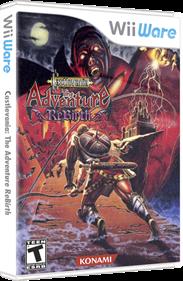 Castlevania: The Adventure ReBirth - Box - 3D