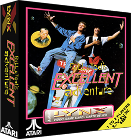 Bill & Ted's Excellent Adventure - Box - 3D