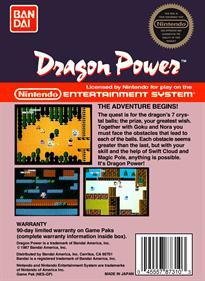 Dragon Power - Box - Back