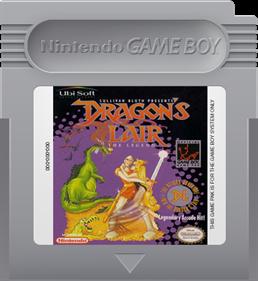 Dragon's Lair: The Legend - Fanart - Cart - Front