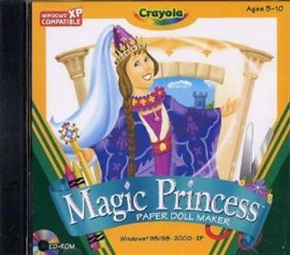 Crayola Magic Princess: Paper Doll Maker