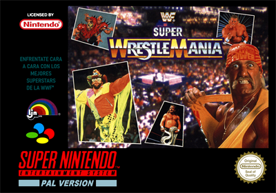 WWF Super WrestleMania - Box - Front - Reconstructed