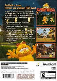 Garfield: Lasagna World Tour - Box - Back