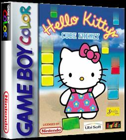 Hello Kitty's Cube Frenzy - Box - 3D
