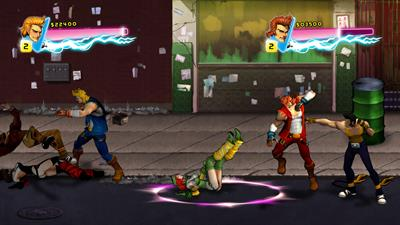 Double Dragon Neon - Screenshot - Gameplay