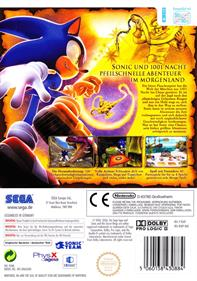 Sonic and the Secret Rings - Box - Back