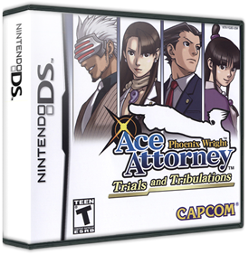 Phoenix Wright: Ace Attorney: Trials and Tribulations - Box - 3D