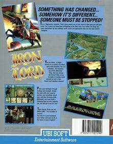 Iron Lord - Box - Back