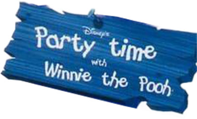 Disney's Party Time with Winnie The Pooh - Clear Logo