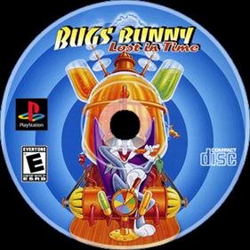 Bugs Bunny: Lost in Time - Fanart - Disc