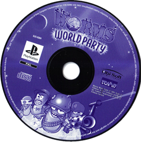 Worms World Party - Disc