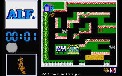 Alf: The First Adventure - Screenshot - Gameplay