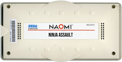 Ninja Assault - Cart - 3D
