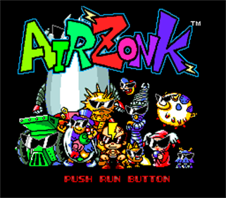 Air Zonk - Screenshot - Game Title