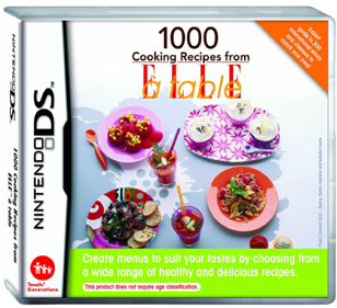 1000 Cooking Recipes from Elle a Table - Box - 3D