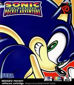 Sonic the Hedgehog Pocket Adventure - Box - Front
