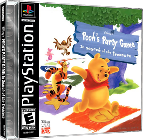 Disney's Pooh's Party Game: In Search of the Treasure - Box - 3D