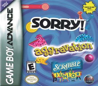 Sorry! + Aggravation + Scrabble Junior