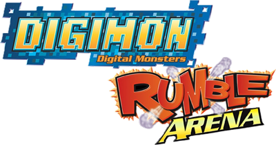 Digimon Rumble Arena - Clear Logo