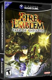 Fire Emblem: Path of Radiance - Box - 3D