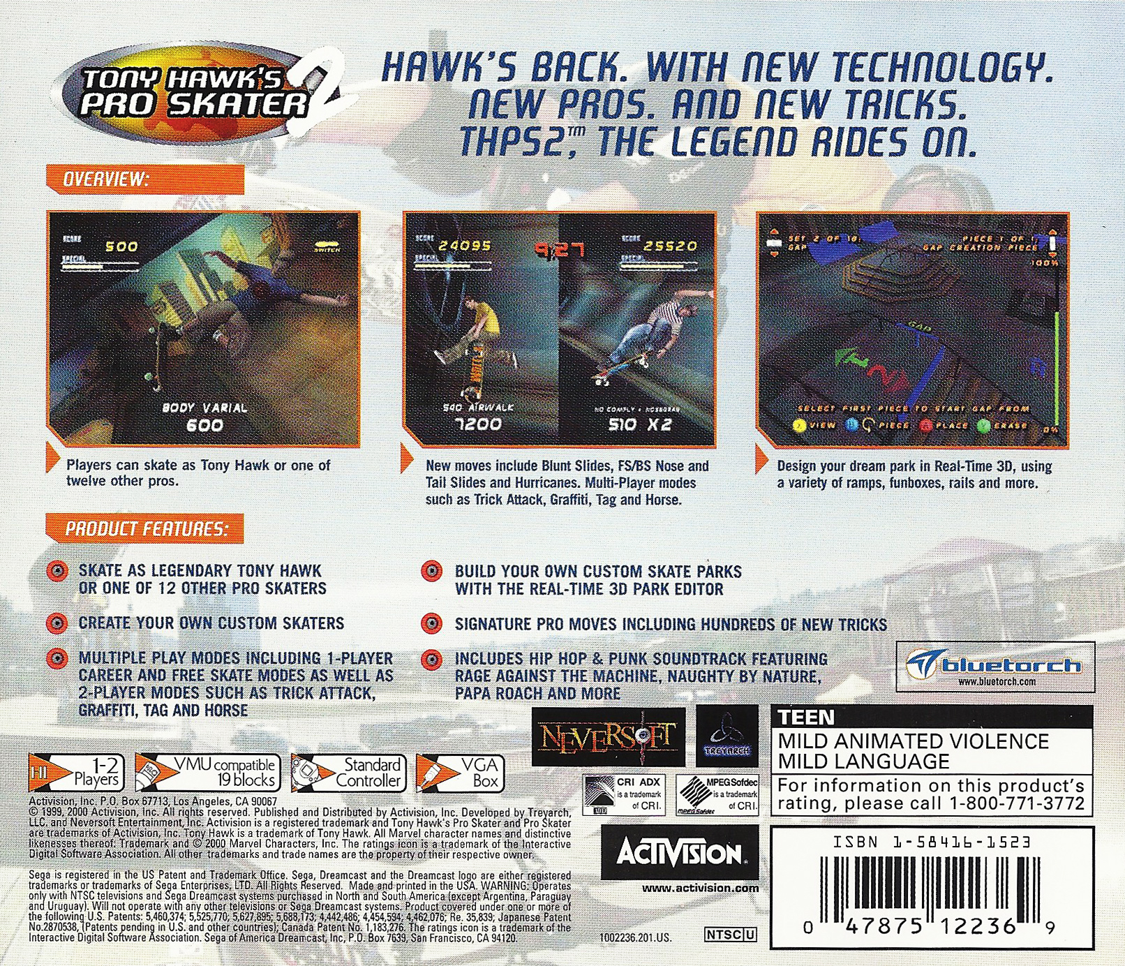 Tony Hawk's Pro Skater 2 Details - LaunchBox Games Database
