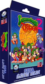 Lemmings 2: The Tribes - Box - 3D