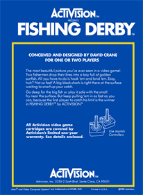 Fishing Derby - Box - Back - Reconstructed