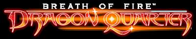 Breath of Fire: Dragon Quarter - Clear Logo