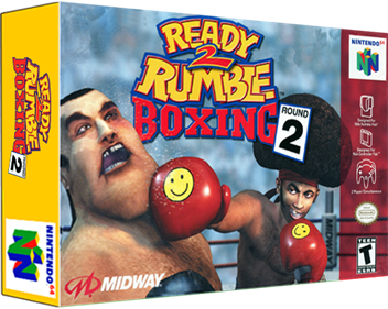 Ready 2 Rumble Boxing: Round 2 - Box - 3D