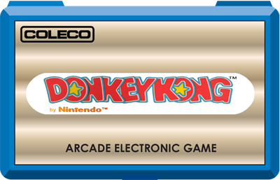 Donkey Kong (Coleco) - Clear Logo
