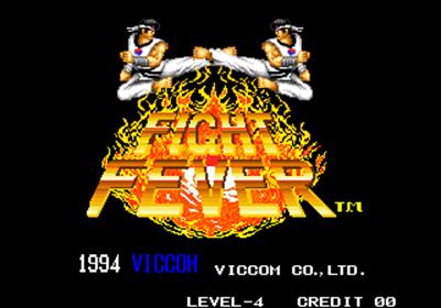 Fight Fever - Screenshot - Game Title