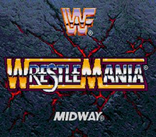 WWF WrestleMania: The Arcade Game - Screenshot - Game Title