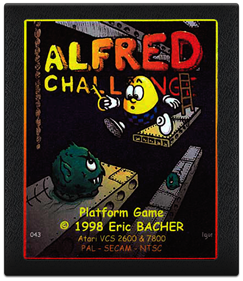 Alfred Challenge - Cart - Front